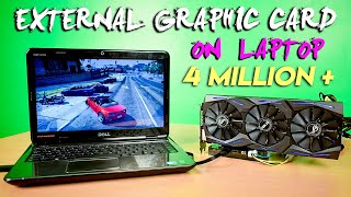How to Setup Desktop External Graphics Card for Laptop - eGPU Ultimate Guide