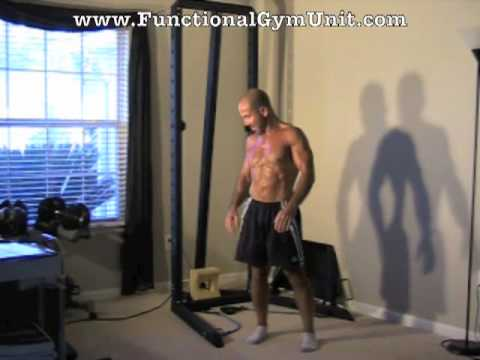 Home Gym Leg Workout PART 2: Band &amp; Bodyweight Exercise Combo