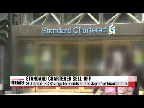 Standard Chartered Korea sells units to Japanese firm