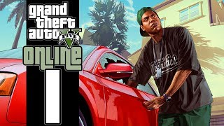 Let's Play GTA V Online (GTA 5) EP01 Vinny Chops