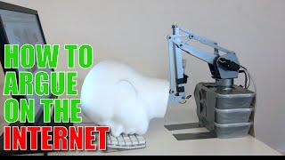 Automated Robotic Internet Comment Assistant