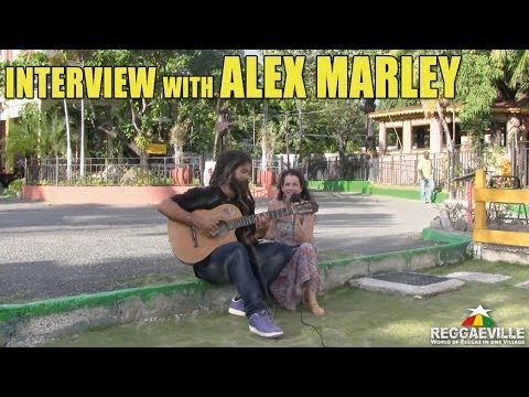 Interview with Alex Marley in Kingston, Jamaica @ 56 Hope Road [February 2014]
