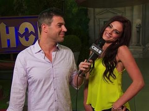 big brother finale backyard interview with kaitlin youtube