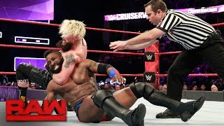 Enzo Amore vs. Cedric Alexander - WWE Cruiserweight Title Match: Raw, Jan. 8, 2018