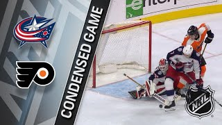 02/22/18 Condensed Game: Blue Jackets @ Flyers
