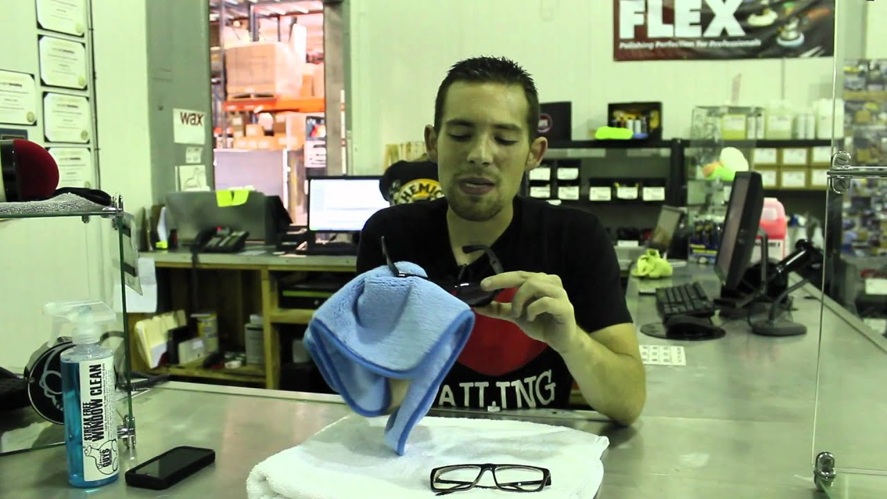 How to clean eyeglasses and sunglasses chemical guys for 2 good guys window cleaning