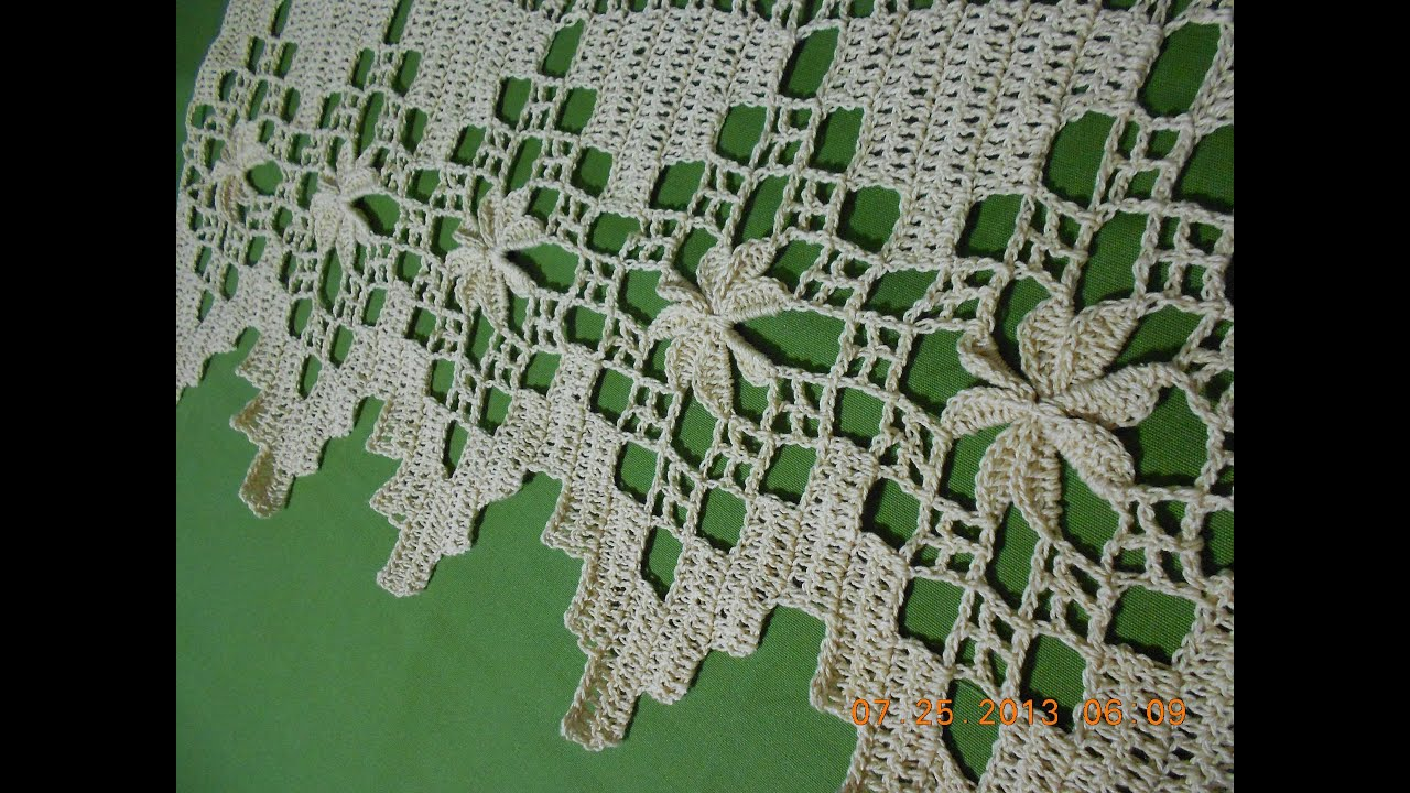 YouTube Orillas De Crochet