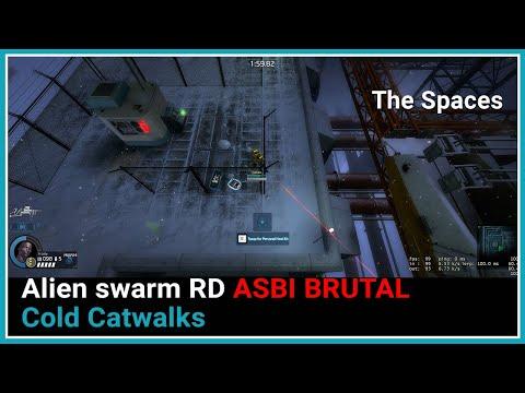 Alien Swarm RD Cold Catwalks ASBI mod   Brutal