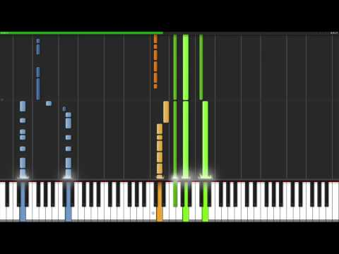 Daft Punk - Get Lucky Piano Tutorial (50% Speed)
