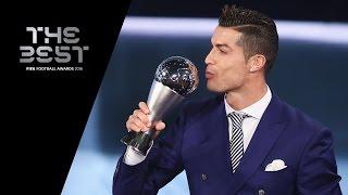 THE BEST FIFA MEN'S PLAYER 2016 - Cristiano Ronaldo WINNER