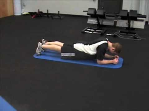 Prone Plank Holds