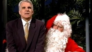 Steve Martin is a Dirty Rotten Scoundrel to Santa Clause: Johnny Carson, 1988