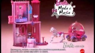 Barbie Moda E Magia Carruagem E Castelo