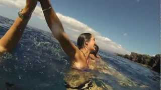 Au Pair Cliff Jumping Hawaii
