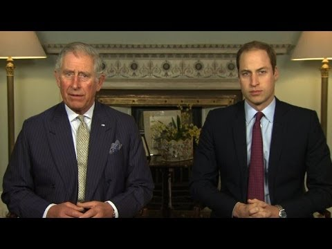 Britain's royals urge end to illegal wildlife trade