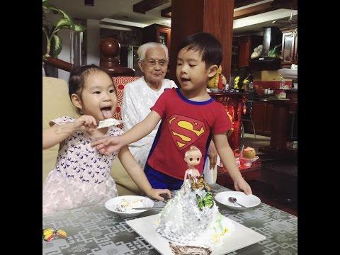 Gia Đình Ca Sỹ Lý Hải - Minh Hà Hạnh Phúc [Sinh nhật Cherry 3 tuổi]