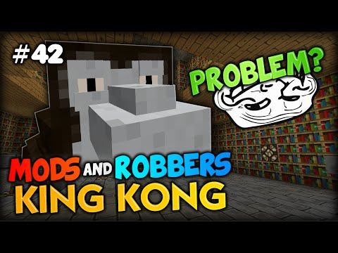 TROLLY PRISON AND KONG'S FUNNY FACE - Minecraft Modded Cops and Robbers w/ SkyDoesMinecraft Simon