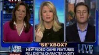 FOX NEWS Mass Effect Sex Debate