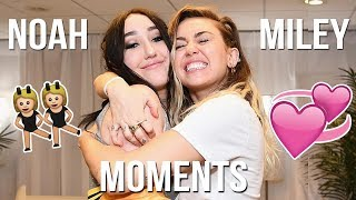 Miley and Noah Cyrus Moments