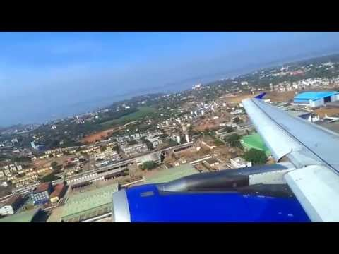 Indigo Airlines Goa Departure
