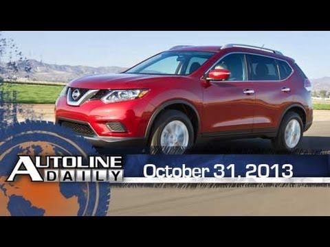 First Look at Nissan's New Rouge - Autoline Daily 1248
