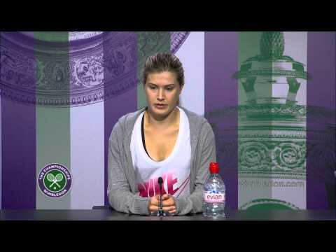 Eugenie Bouchard 'worked so hard' for this - Wimbledon 2014