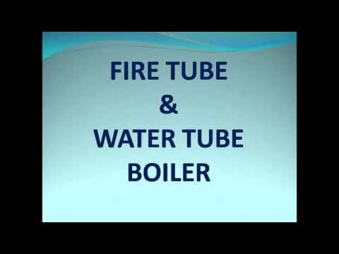 Fire tube and water tube boiler