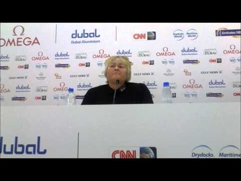 Laura Davies on being back in Dubai ahead of the 2013 Omega Dubai Ladies Masters