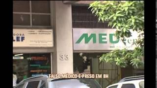 Pol�cia prende falso m�dicoque fazia insemina��o artificial no Bairro Santa Efig�nia