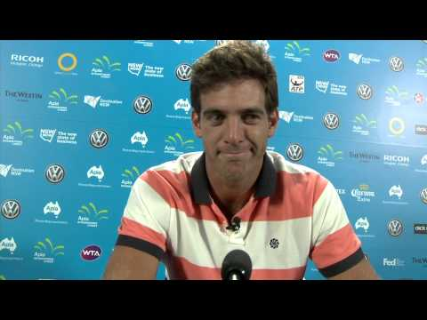 10 Questions with... Juan Martin Del Potro - Apia International Sydney 2014