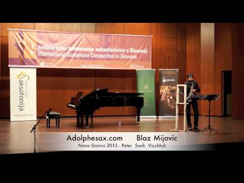 Blaz Mijovic – Nova Gorica 2013 – Peter Savli: Visuhhdi