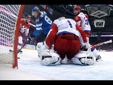 Olympic Sochi 2014: Russia suffer shock 3-1 defeat to Finland in men's ice hockey.
