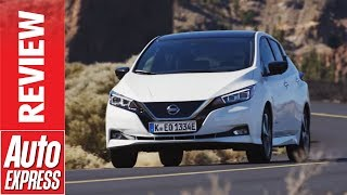 New Nissan Leaf review - second-gen electric car gets range and tech boost. Auto Express.