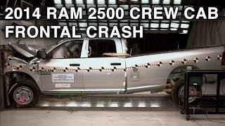 2014 RAM 2500 Crew Cab Frontal Crash Test CrashNet1