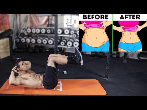 6 exercices pour perdre du ventre !