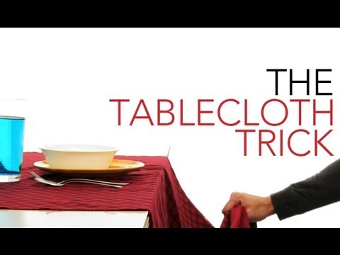 The Tablecloth Trick - Sick Science!