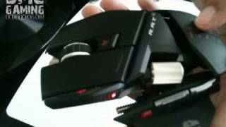 Mad Catz Saitek Cyborg RAT 9 Wireless Gaming Mouse Review