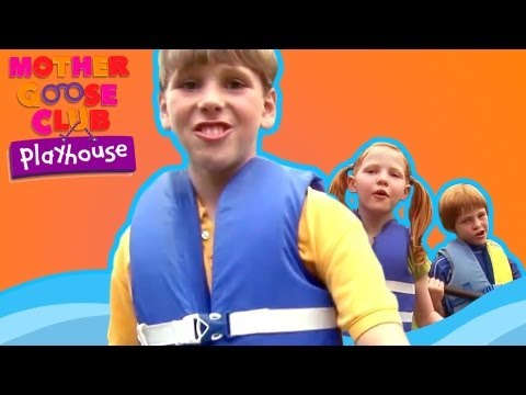 Row, Row, Row Your Boat - Mother Goose Club Nursery Rhymes