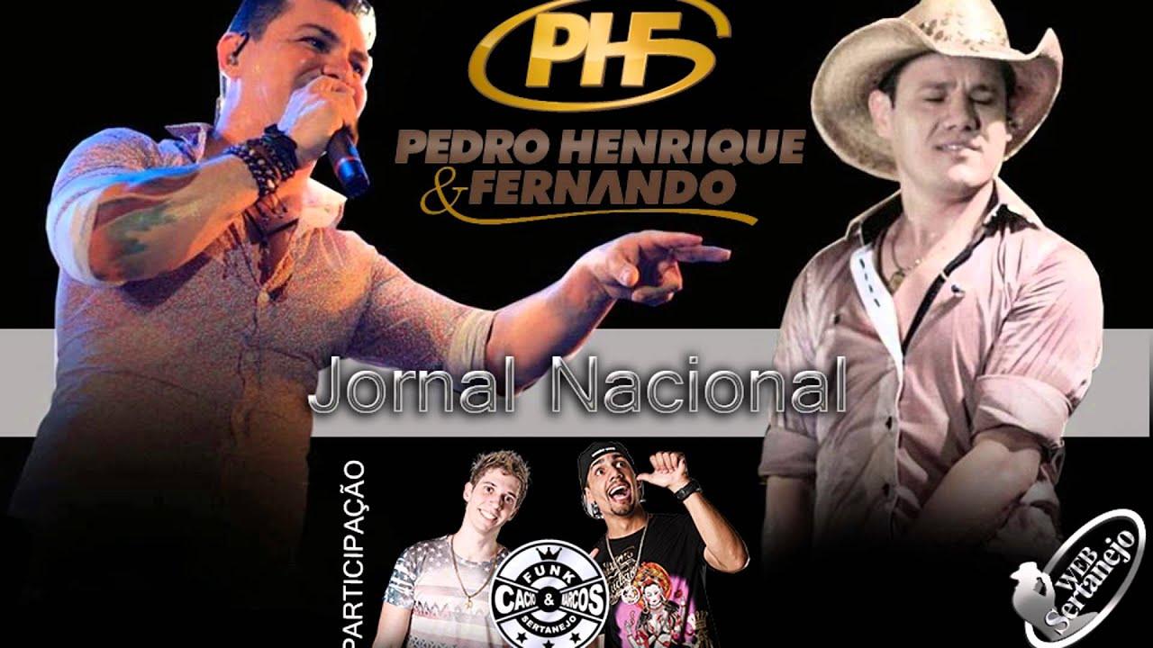 Pedro Henrique e Fernando Part. Cacio e Marcos - Jornal Nacional - 2014