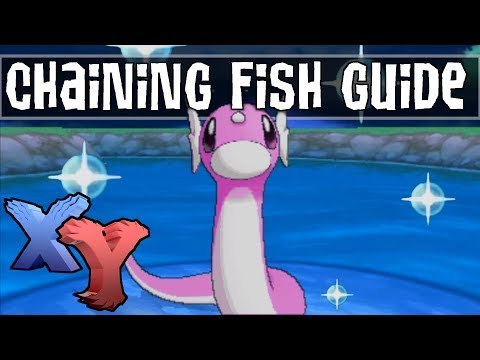 Chaining Fish for Easy Shinies! - Shiny Hunting Guide - Pokemon X and Y