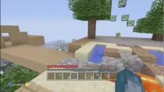 Minecraft Xbox Sky Island Challenge Slippery Shack [5