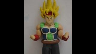 Bardock Super Saiyan figura de plastilina  YouTube
