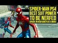 Spider Man PS4 New Game Plus UPDATE FROM DEV, Suit Power Nerfed & More (Spiderman PS4 New Game Plus)