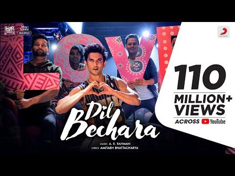 Dil Bechara – Title Track | Sushant Singh Rajput | Sanjana Sanghi | A.R. Rahman | Mukesh Chhabra