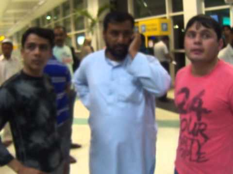 Akcent Salman In Abu Dhabi Air Port