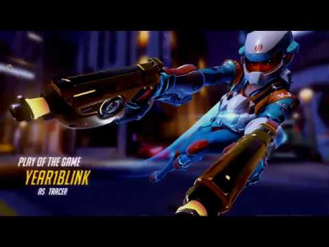 Overwatch Tracer is God on Hollywood