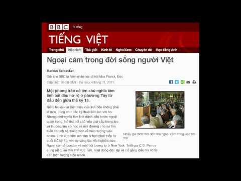 04-11-2011 - BBC Vietnamese - Ngoại cảm trong đời sống người Việt