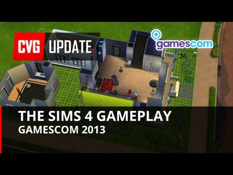 The Sims 4 gameplay walkthrough - Gamescom 2013