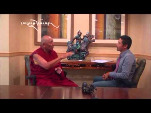 (Tibetan public talk mtkdusa2011) Interview with Geshe Jampa Losel Part 11