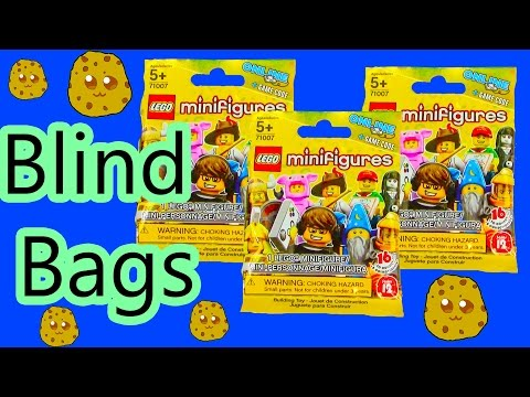 Mystery Surprise Lego Series 12 Collection Blind Bags Opening Toy Review Unboxing Cookieswirlc